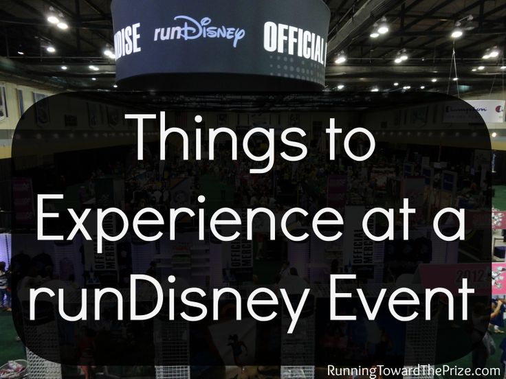 Hmm, maybe I will run another one? At Disney World!!!!! The many things to experience during a runDisney event weekend!