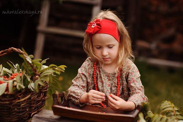 Fall kids craft idea / Чем заняться с ребенком в сентябре?