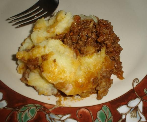 "Gordon Ramsay s Shepherd s Pie from Food.com: I found this on a blog on the internet site I can do that. This is a recipe that author ""Oggi"" adapted from Gordon Ramsay's show ""Kitchen Nightmares"" where he tried to save the restaurant. This recipe ended up being the signature dish of the restaurant."