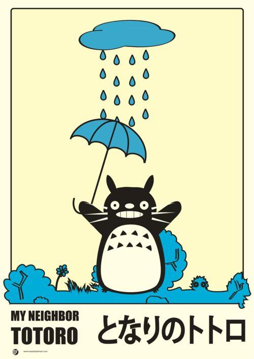 My Neighbor Totoro by Måsse Hjeltman