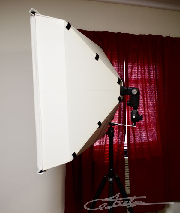 Andrew's World » Blog Archive » DIY: 30″ Square Soft Box that Folds Flat for Travel