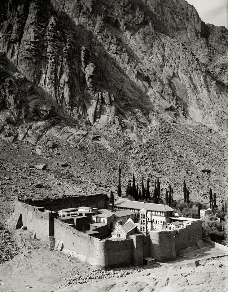 Sinai, Saint Catherine's Monastery