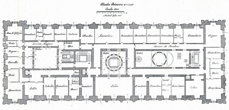 There are four floors of the palace with the ground floor containing offices, studies, the library and archives, and the music room. Description from tdclassicist.blogspot.ca. I searched for this on bing.com/images