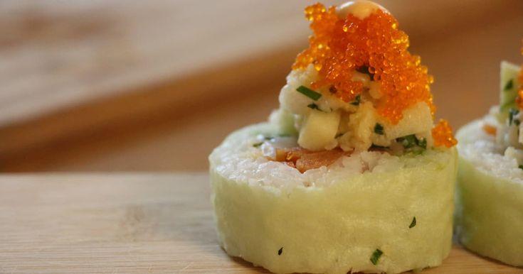 Découvrez cette recette de Maki « Zeste » aux pétoncles et à la pomme pour 4 personnes, vous adorerez!