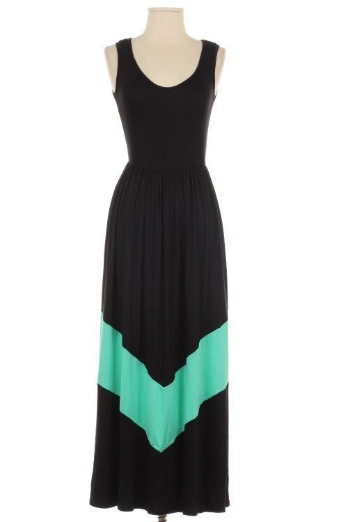 plus size black tank maxi dress