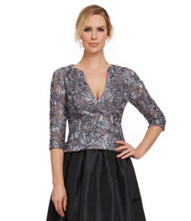 Shop for Marina Sequined Soutache Faux-Wrap Top at Dillards.com. Visit Dillards.com to find clothing, accessories, shoes, cosmetics & more. The Style of Your Life.