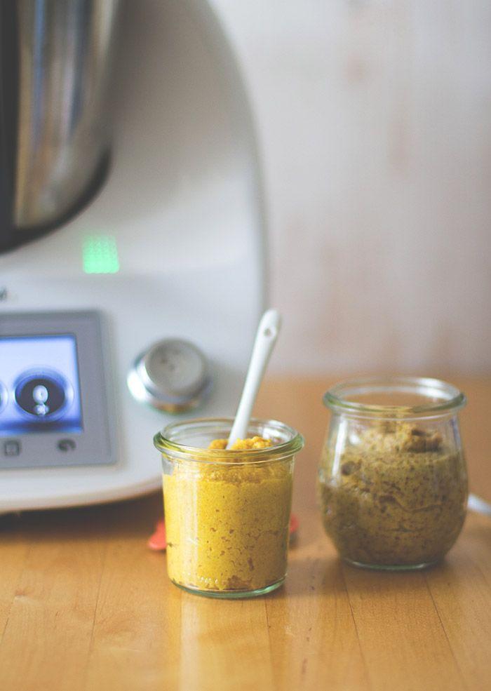TIY: Thermomix it yourself – selbst gemachter klassischer Senf und Cidre-Senf zum Schenk-mal-was-Tag