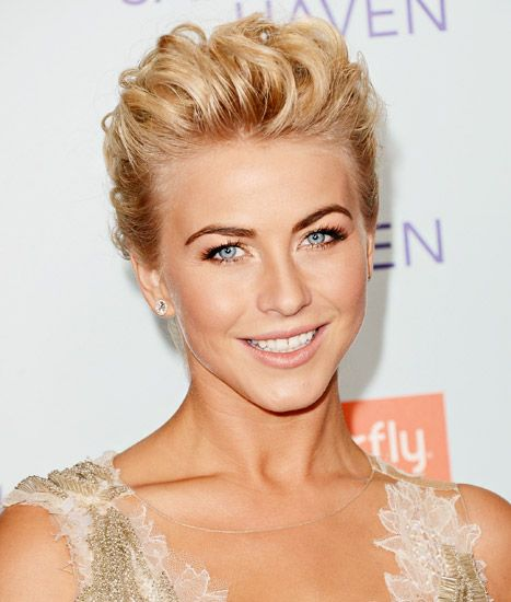 "Julianne Hough arrives at the premiere of ""Safe Haven"" on February 5, 2013 in Hollywood, California."
