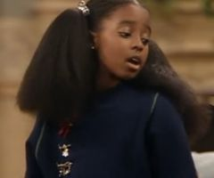 ORIGINAL LONG NATURAL HAIR ON THE COSBY SHOW