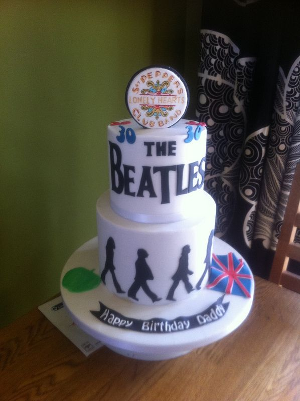 1000 Ideas About Beatles Cake On Pinterest The Beatles