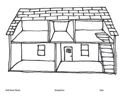 Dollhouse Coloring Pages Images Free Download