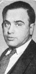 A young Al Capone, already showing the facial scars that would earn him the despised nickname that he carried with him for the rest of his life.
