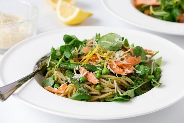 15 power meals for pregnant women  smoked salmon pasta