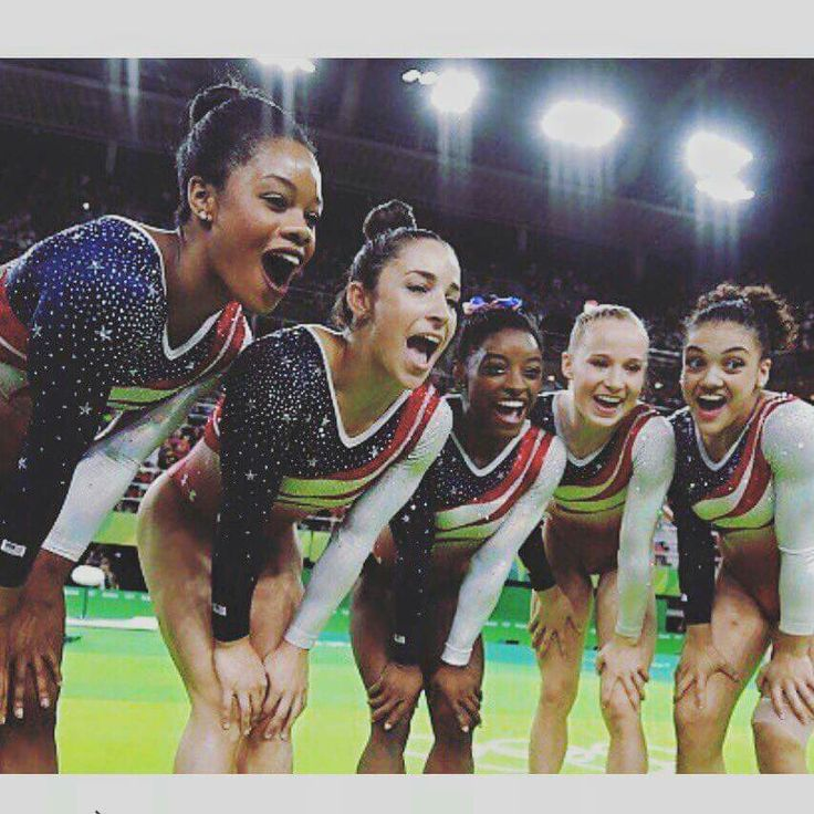 2016 USA Women's Gymnastics Team ... GOLD ...