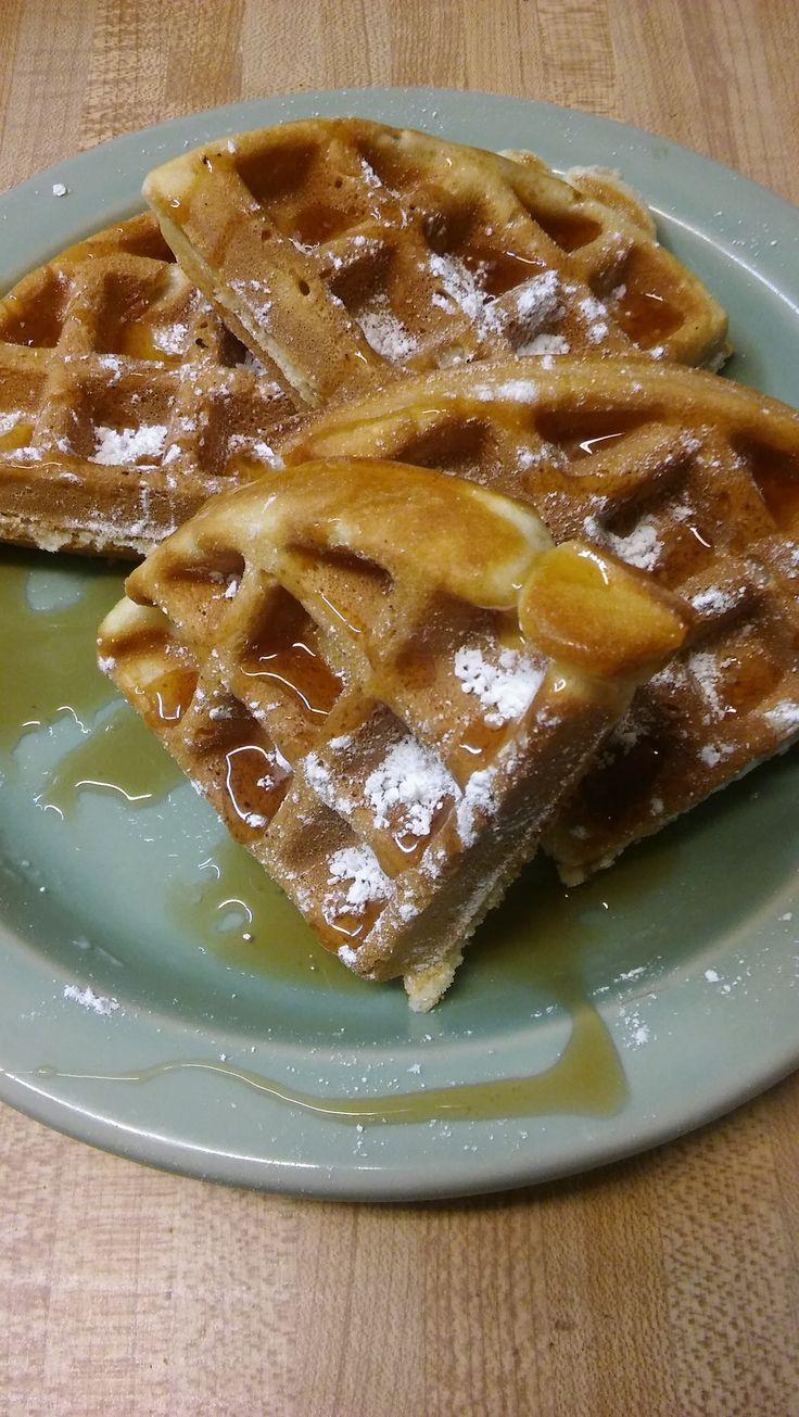 The Best Belgian Waffles Recipe - Genius Kitchen