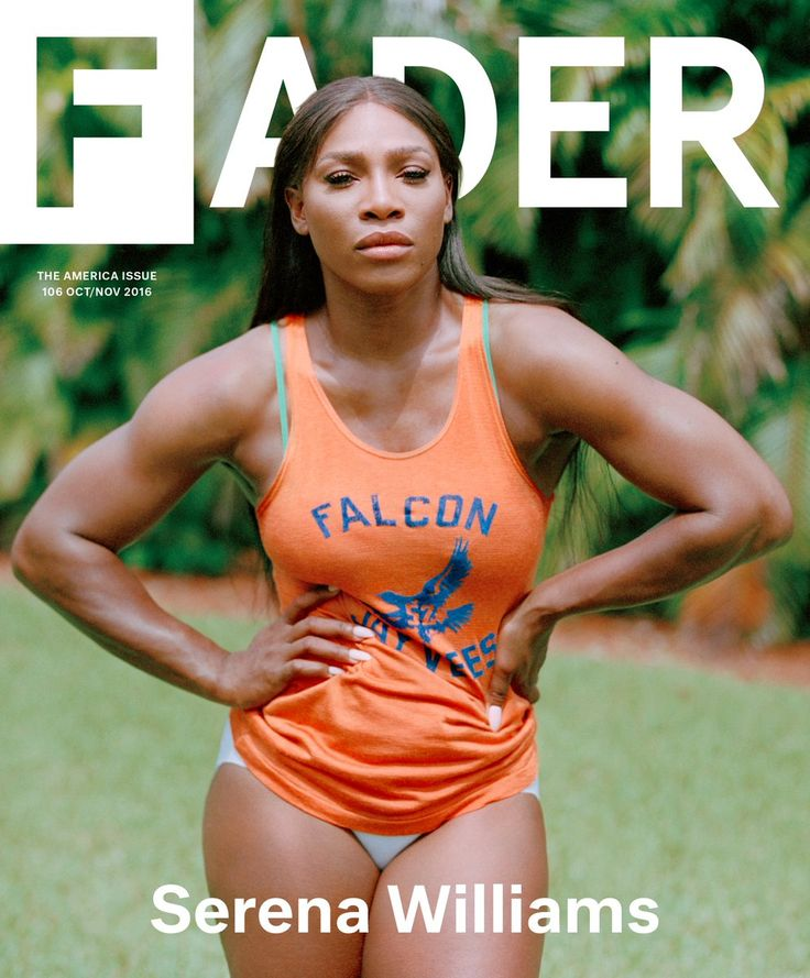 Serena Williams exudes strength in her Fader cover shoot