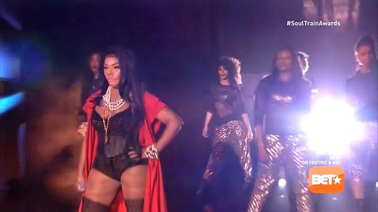 """Lil' Kim performs """"Ladies Night"""" ft. Missy Elliott, Da Brat (2014) HD"""