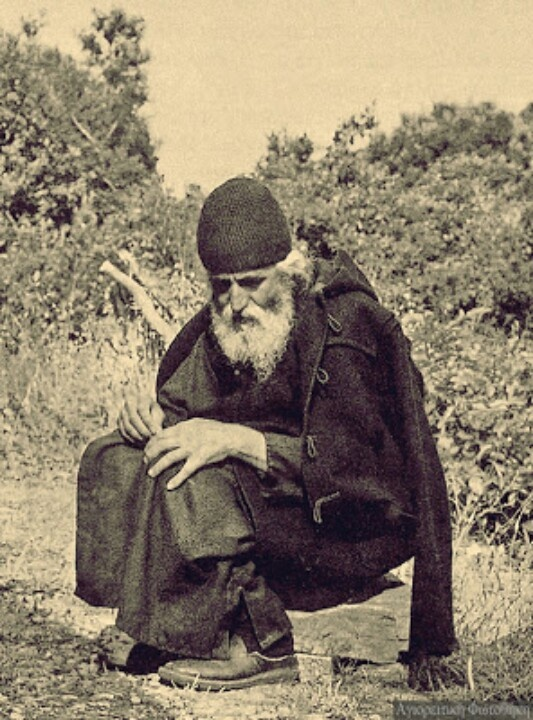 """Indifferent and merciless people, who think only of their own selves, insensitively satisfying themselves, simultaneously fill their hearts with much anguish. Within them works the little worm of a troubled conscience, and they are tormented already in this life."" -Elder Paisios"