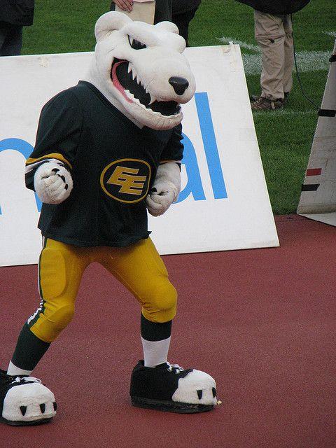 Nanook, Edmonton Eskimos mascot.