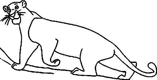 jungle book bagheera cool jungle book coloring pages