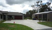 Storage shed builders NZ wide span garages, timber pole sheds