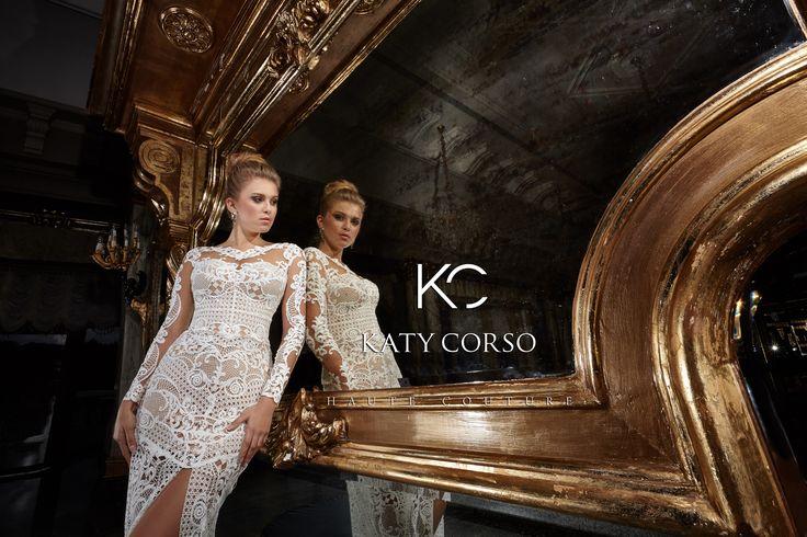 High level, gorgeous design, magical dresses! #Haute Couture#KatyCorso #brand #weddingdresses