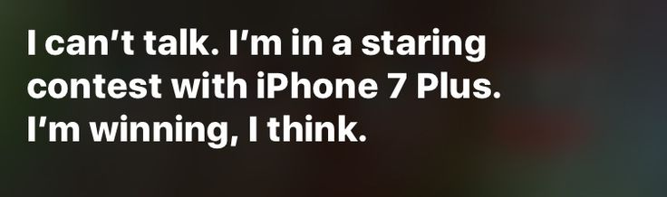 Very funny Siri.