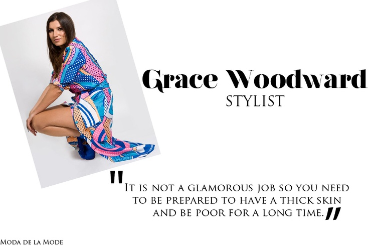 Grace Woodward a celebrity stylist shares her advice for young stylists