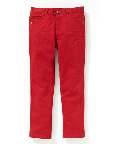 R Essentiel Bukse i smal modell i fargene Blå, Grå, Rød, Lys brun, Grønn, Svart, Gul, Lys blå, Okergul, Oransje, Hvit innen $GenderDepartment - Bukser & jeans - La Redoute