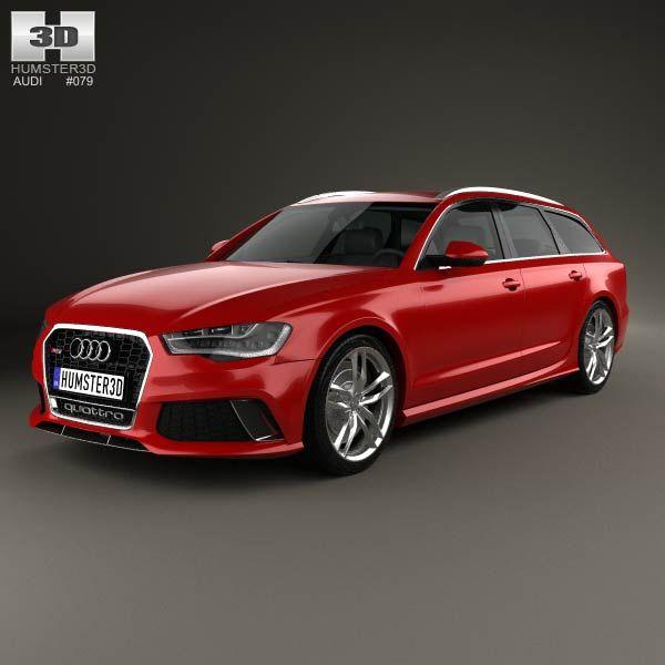 Audi RS6 (C7) Avant 2014 3D Model