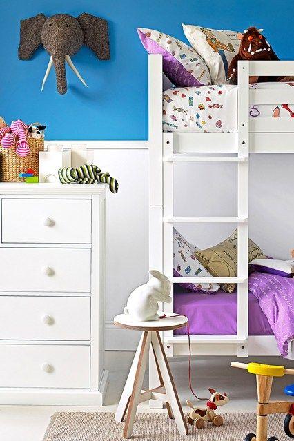 青と白 - キッズベッドルームのアイデア - 子供の部屋、家具(houseandgarden.co.uk)