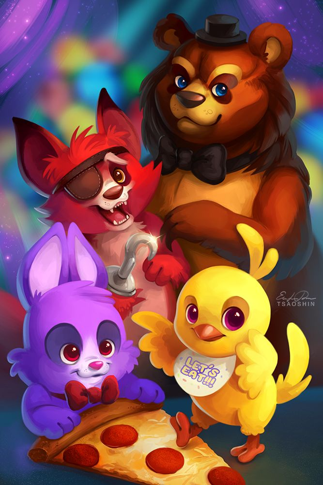 1000 images about five night at freddy 39 s fun on pinterest - Fnaf cute pictures ...