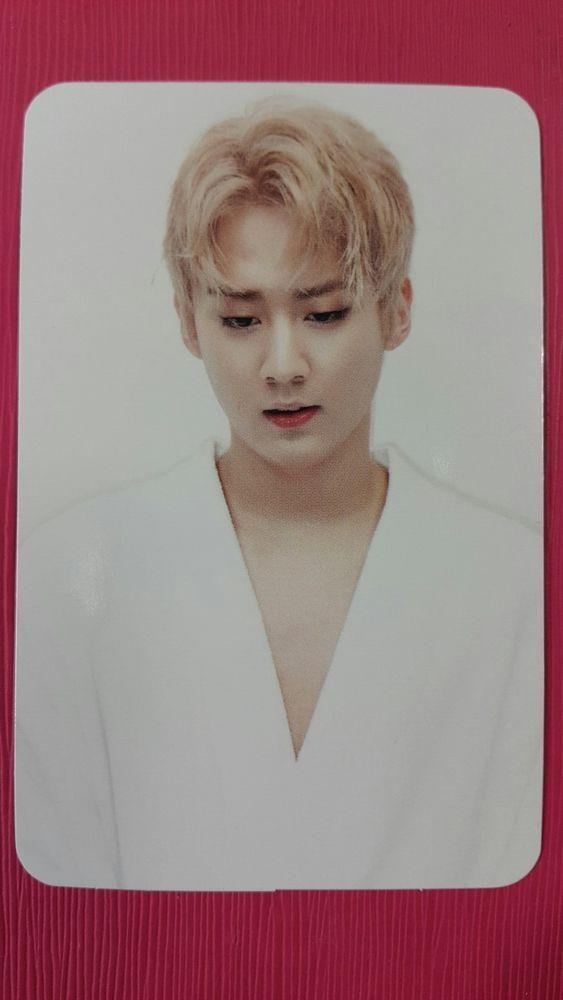 TEENTOP CHUNJI Official Photocard #2 RED POINT 7th Album Photo Card 천지