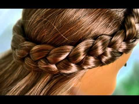 Best Images About Hair On Pinterest Doll Hairstyles French - Girl hairstyle video