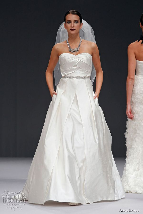 wedding dresses with pockets spring 2012 anne barge hadley