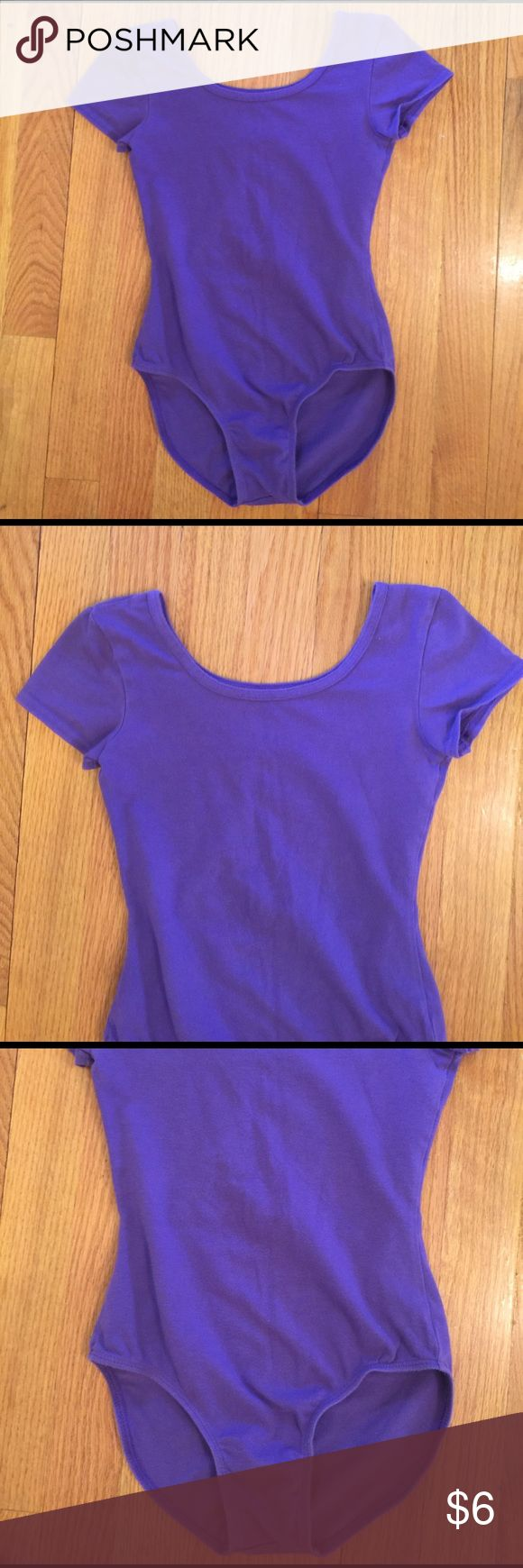 Girl's Danskin Purple Leotard Size 7/8 Girl's Danskin Purple Leotard Size 7/8. 95% Cotton, 5% Spandex. Excellent condition. Short sleeve. Danskin Now Other