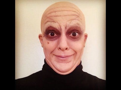 ADDAMS FAMILY UNCLE FESTER - special fx makeup tutorial engl