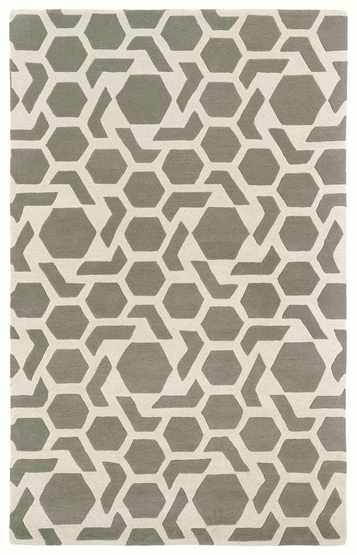 Revolution REV05-75 Grey/Ivory Modern Rug  #floordecor #homedecor #rugs #myhome #fab #carpet #instahome #dreamhome #interiorstyling #homedesign