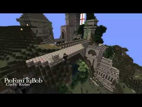Minecraft Castle Timelapse HD  Beautiful <3