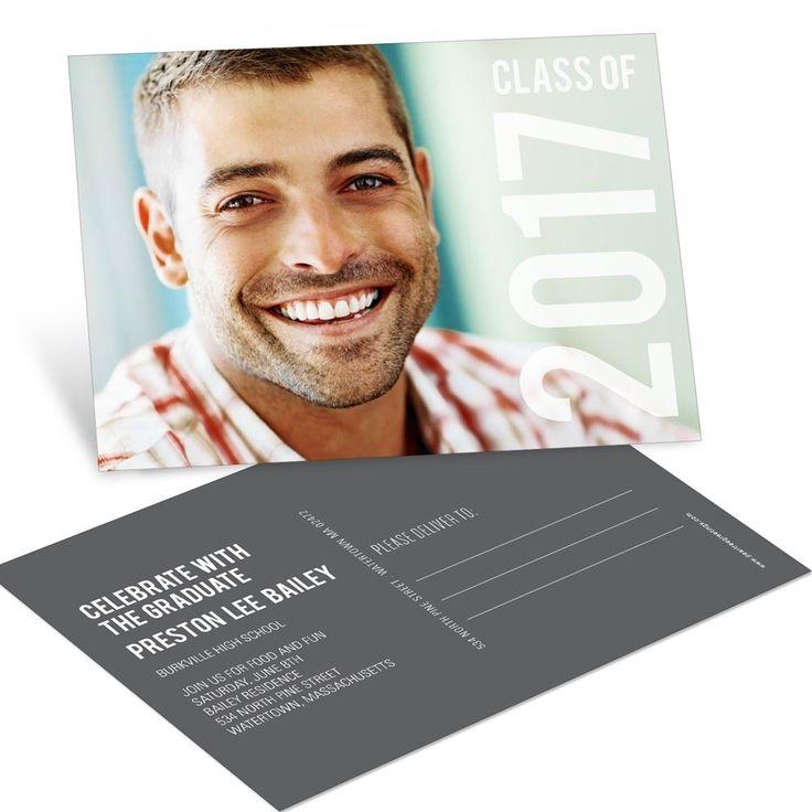 Big Year Horizontal Postcard | Graduation Announcements