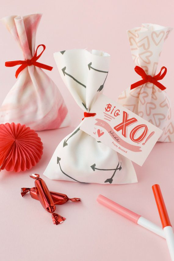 DIY: No-Sew Valentine Treat Bag by Annie for Julep