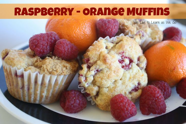 Raspberry-Orange Muffin Recipe #MuffinMadness | Soft ...