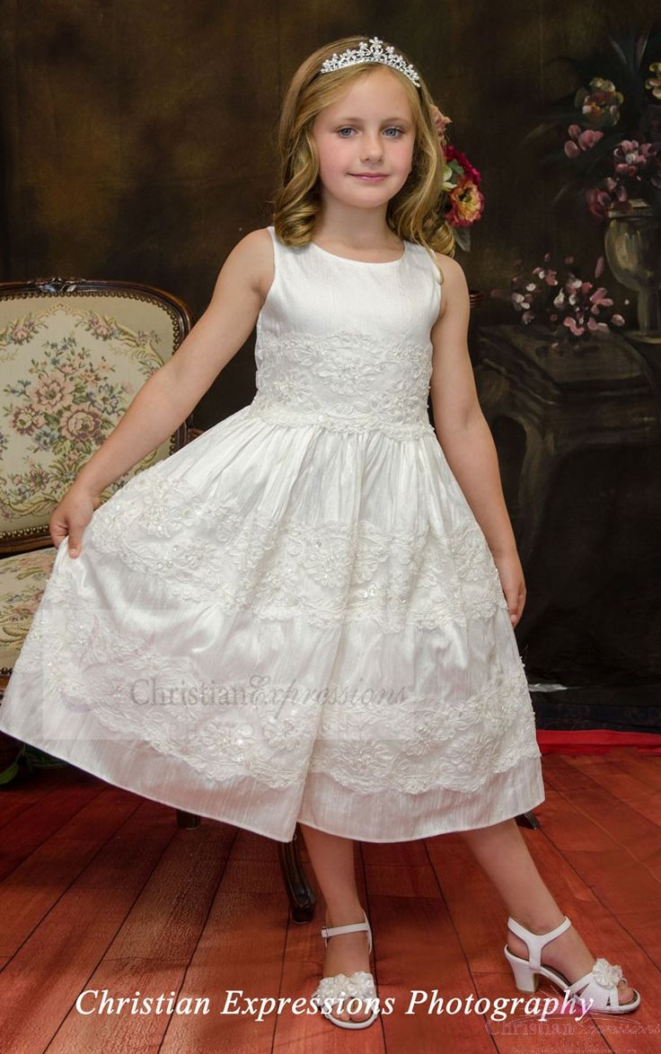 18 best Silk First Communion Dress Style Kayla images on