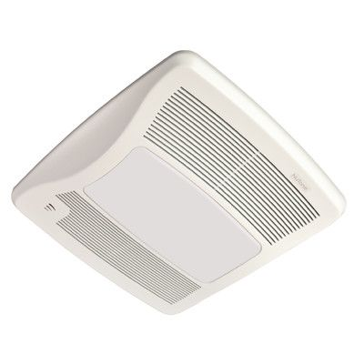 Broan Ultra Series 110 CFM Energy Star Bathroom Fan with Light and Humidity Sensing
