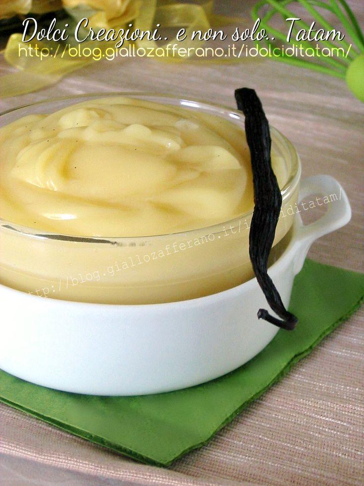 Crema pasticcera senza glutine e senza latte   gluten-free, dairy-free