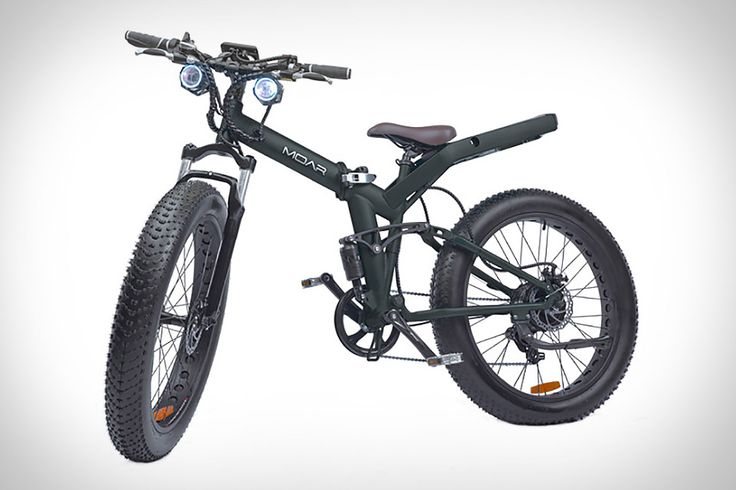 Powered by either a 500W rear hub or a 750W mid-drive motor, the Moar Folding Electric Bike isn't your average battery-assisted cycle. Its folding frame makes it easy to stow in the trunk or carry into the office, eliminating the...