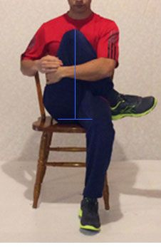 Sitting causes nerve pain? Stretch your glutes daily to relieve your pain.