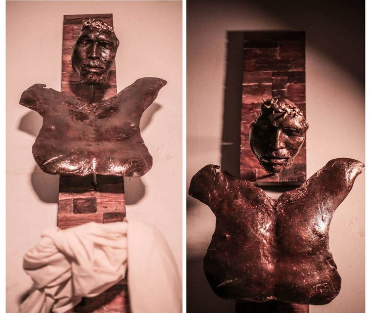 BROKEN BODY  By Amir Attallah  In Sculpture, Bronze, Wood, Fabric Size: 1700(W) X 2000(H) X 350(D)  Price 3000 CHF  See it here: http://www.c-glory.ch/artwork.html #CGlory #BrokenBody #Artwork