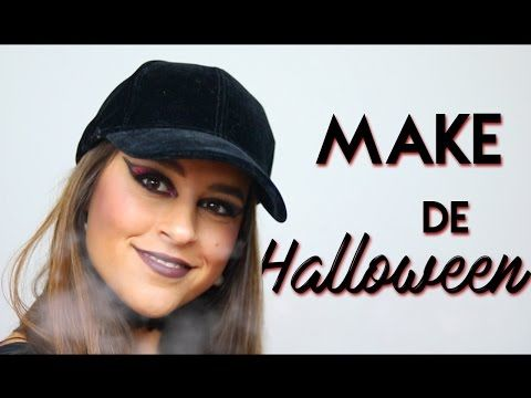 Maquilhagem de Halloween | Adriana & Ilda - YouTube