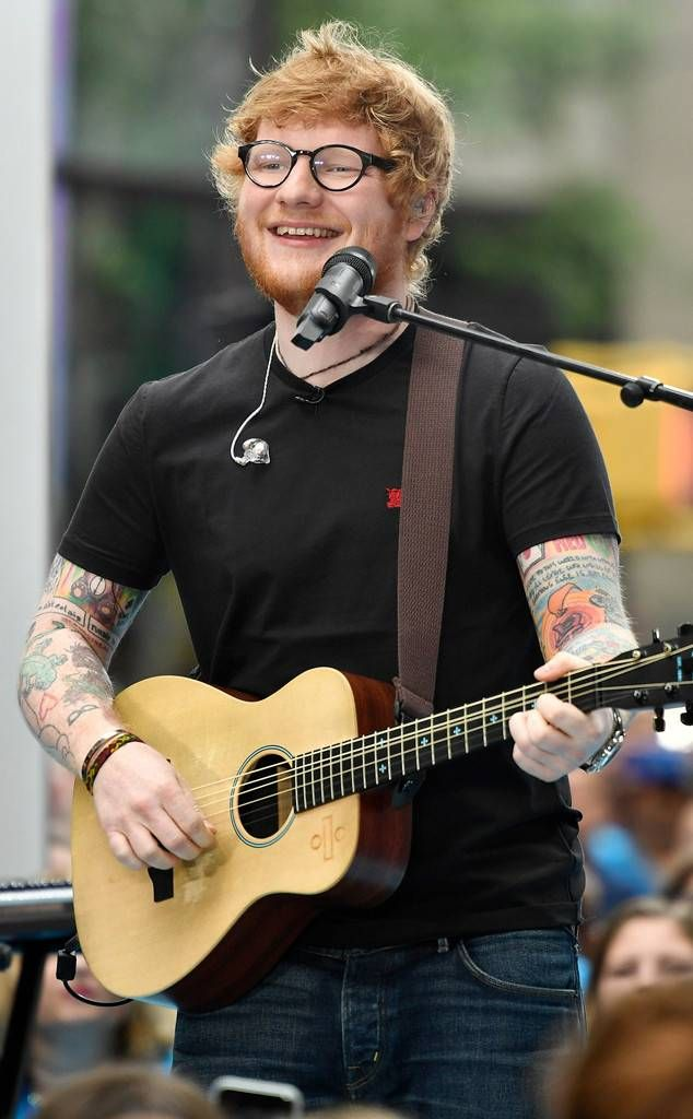 Ed Sheeran Begins Stadium Tour from 50 Pop Culture Events Coming in 2018  August 18: After the success of Divide, the singer is on board for a North American stadium tour that will kick off at the Rose Bowl in Pasadena, Calif.